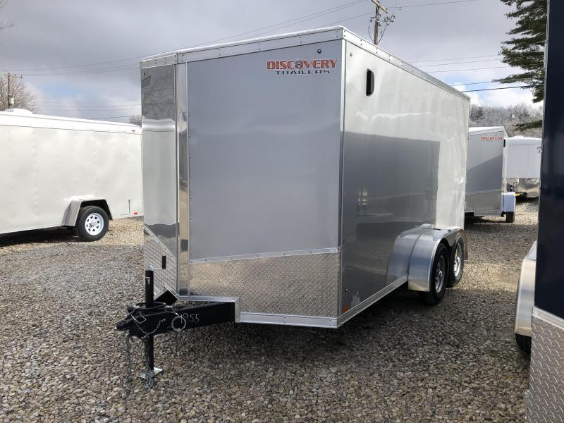 2019 7'x14' 7k Discovery Enclosed Trailer. 1955