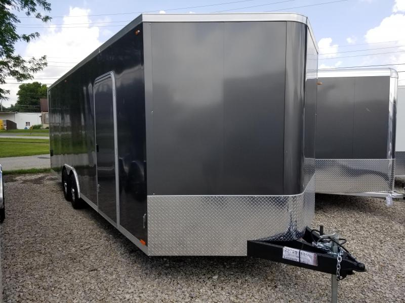 2020 8.5x26 Legend Manufacturing V-Nose Cyclone Auto Hauler