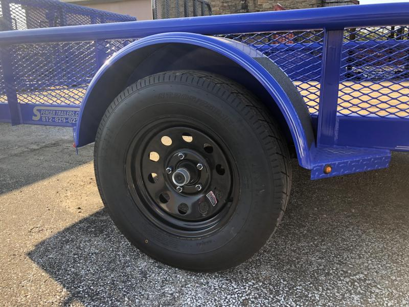 2019 12x77 Diamond C Utility Trailer. 4752