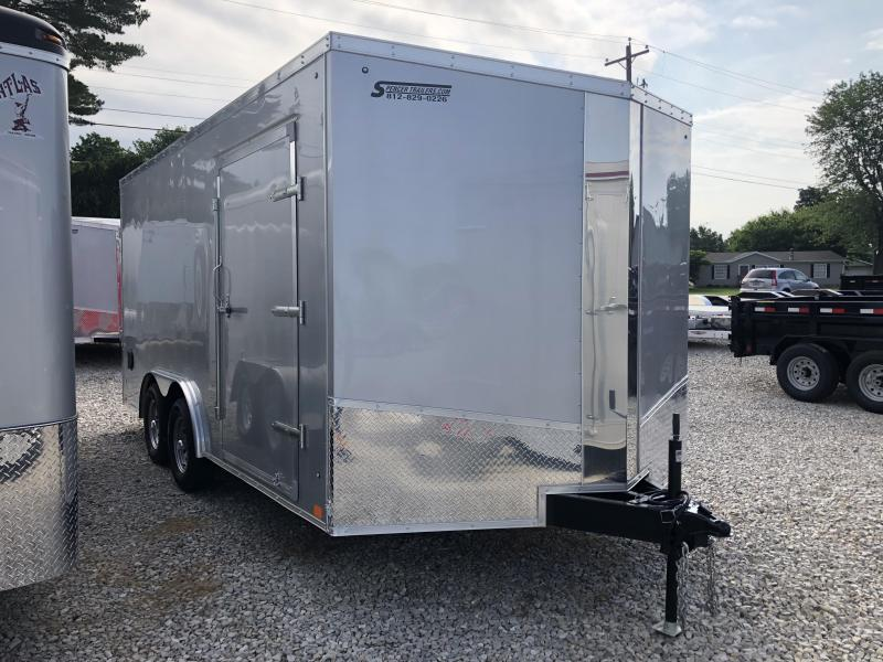2019 8.5'x16' Discovery Enclosed Trailer. 2639
