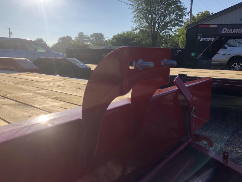 2018 22' 14.9K Diamond C Tilt Equipment Trailer. 2131