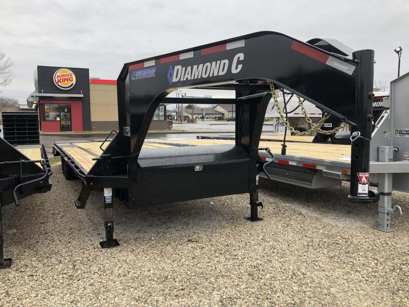 2019 30x102 15.5K Diamond C GN Equipment Trailer. 08919