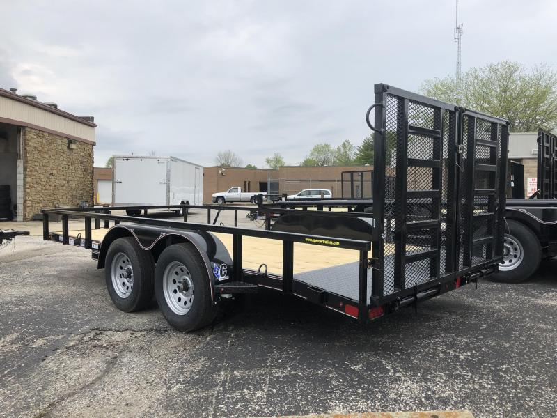 2019 14+2x83 7K Diamond C Utility Trailer. 14260