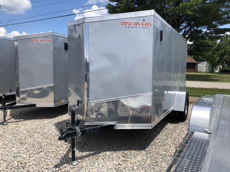 2019 6x12 Discovery Enclosed Cargo Trailer. 2520