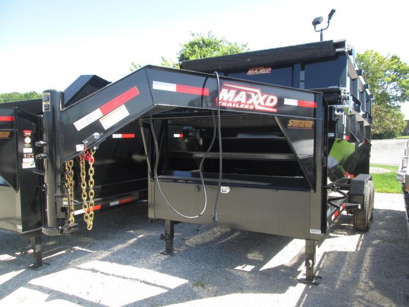 "2019 83""x14' 14k MAXXD Gooseneck Roll-Off Dump Trailer. 65351"