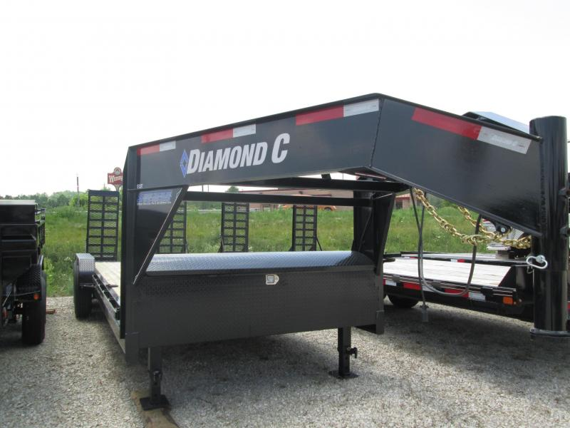 2019 20+2x82 14.9K Diamond C GN Equipment Trailer. 14398
