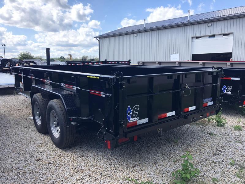 """2019 82""""x16' 14900lb GVWR Heavy Duty Low-Pro Dump. 05399"""