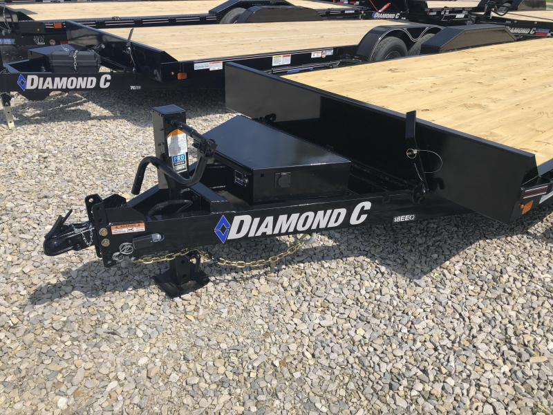 2018 22' 14.9k Diamond C Tilt Equipment Trailer. 00896