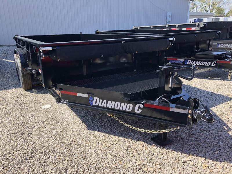 2019 14x82 14.9K Diamond C Dump Trailer. 5142