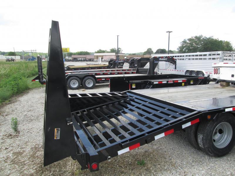 2019 Load Trail 20+5x102 22K Equipment Trailer. 86277