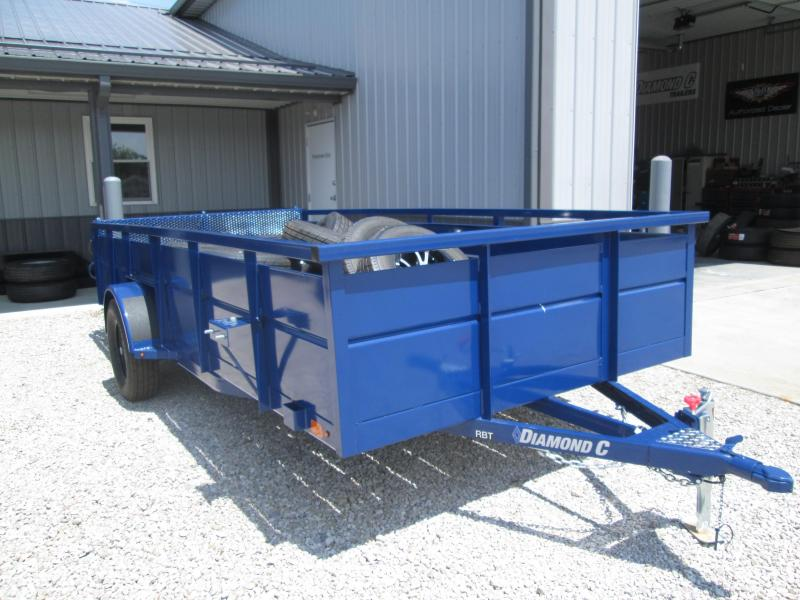 2019 14x77 Diamond C Utility Trailer. 16615