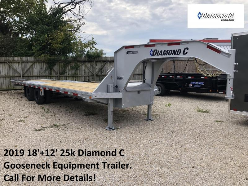 2019 18'+12' 25k Diamond C Gooseneck Equipment. 04747