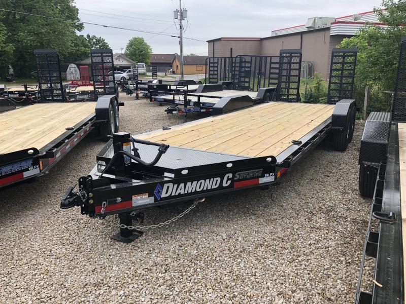 "2018 20'+2'x82"" 14.9K Diamond C Equipment Trailer. 00893"