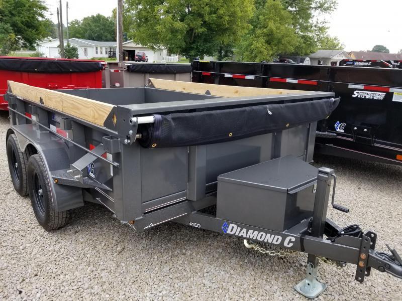 2019 10x77 7k Diamond C Dump Trailer. 4966