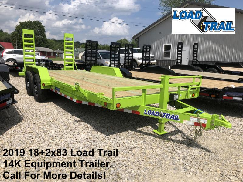 2019 18+2x83 14K Load Trail Equipment Trailer. 87112