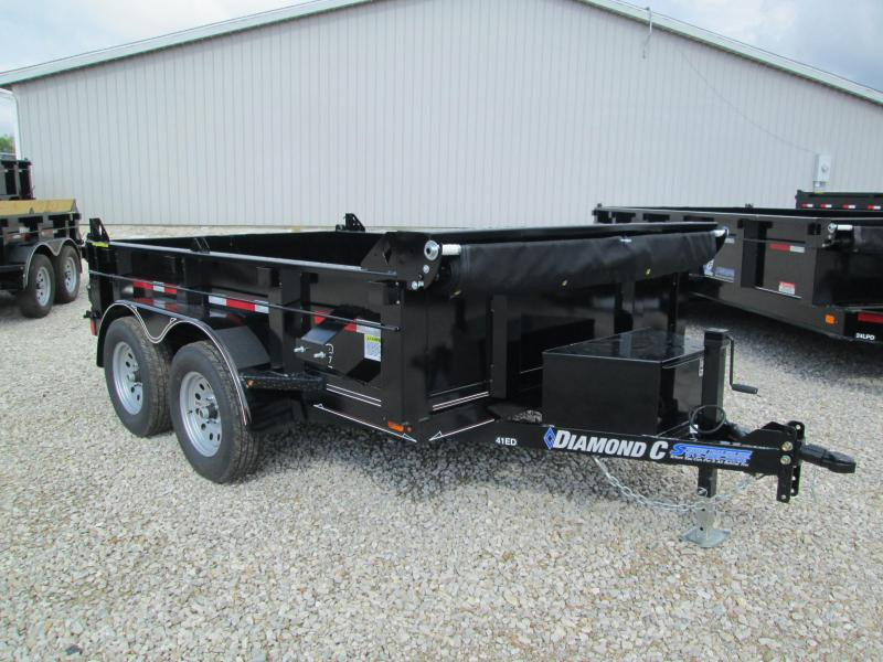 2018 10x77 7K Diamond C Dump Trailer. 2551