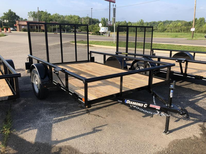 2018 10x77 Diamond C Utility Trailer. 2608