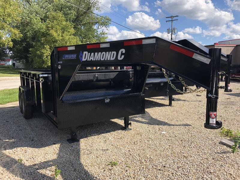 2019 14x82 14K Diamond C GN Dump Trailer. 5307