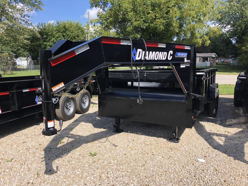 2019 14x82 14K Diamond C GN Dump Trailer. 5307  in Ashburn, VA