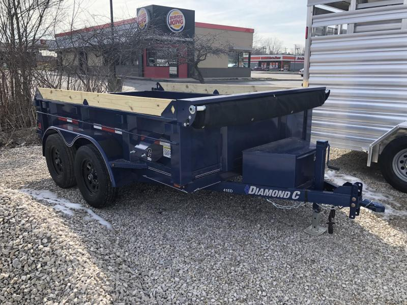 "2018 10'x77"" 7K Diamond C Dump Trailer. 99803"