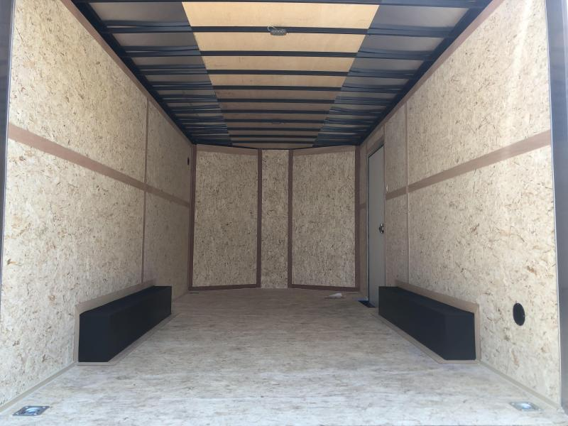 2019 8.5x16 Wells Cargo Enclosed Cargo Trailer
