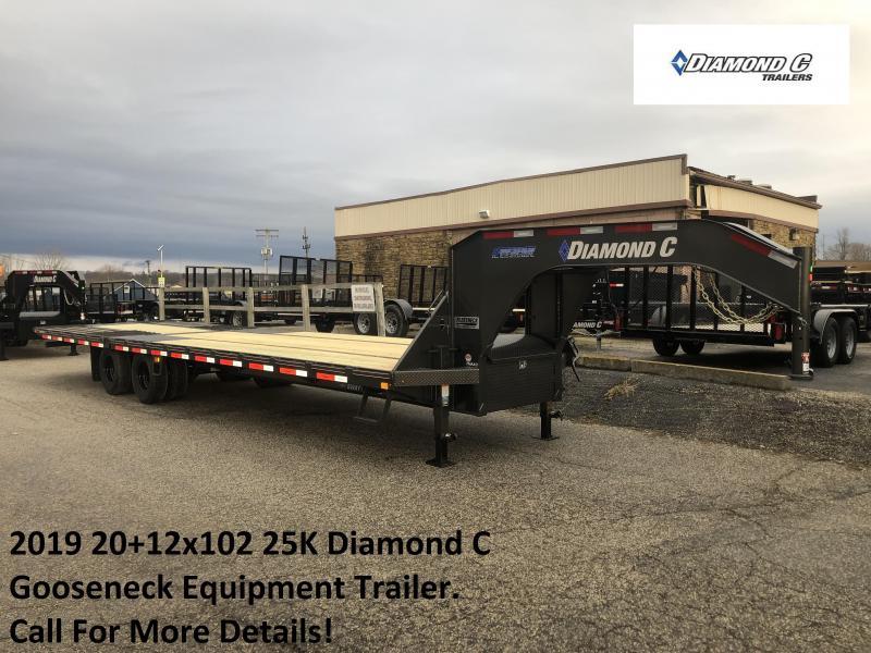 2019 20+12x102 25K Diamond C GN Engineered Beam Equipment Trailer. 10304