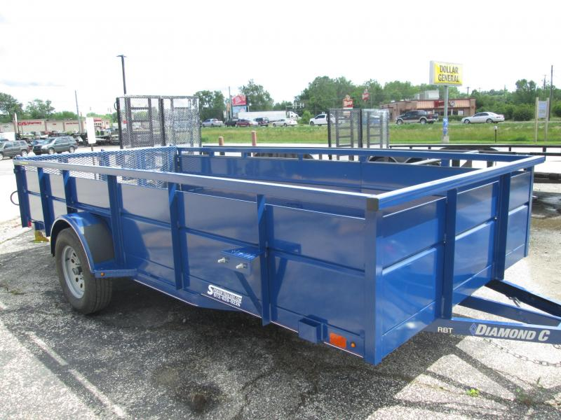 2019 14x77 Diamond C Utility Trailer. 15929