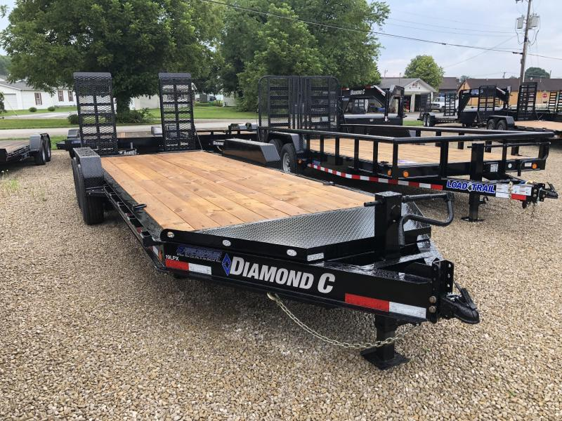 2018 18+2x82 14.9K Diamond C Equipment Trailer. 2643