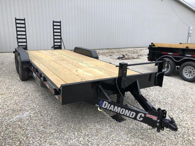 2018 Diamond C 18+2 14k Equipment Trailer. 2096