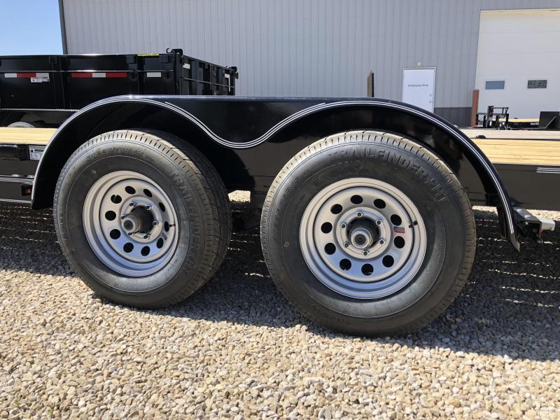 "2018 20'+83"" 10K Diamond C Equipment Trailer. 00892"