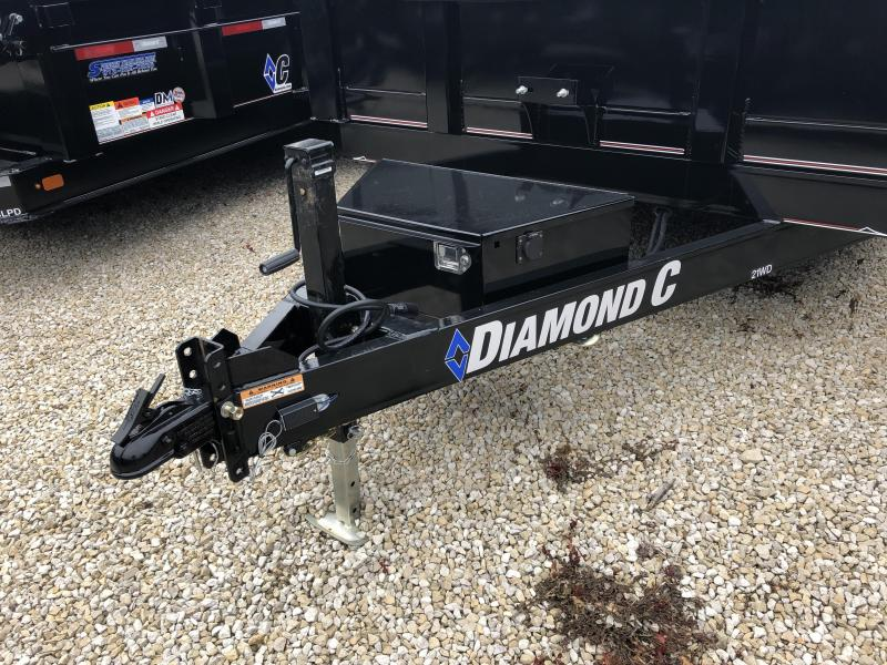 """2019 14'x82"""" 14.9k Diamond C Dump. 7898"""