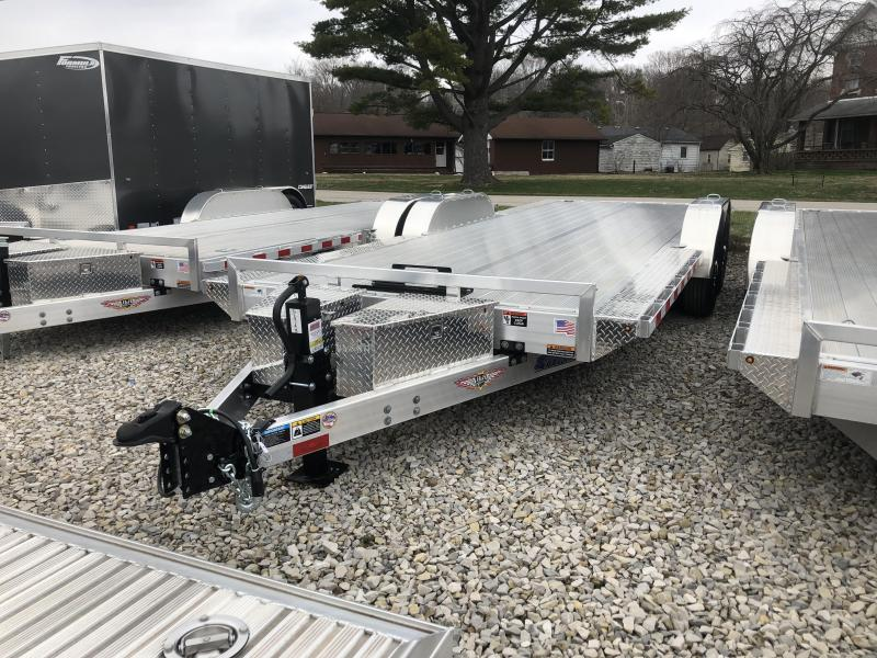 2019 102x22 14K H and H Equipment Trailer. 19193