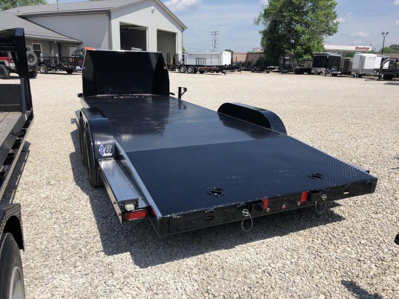 """2018 20'x83"""" 10k Diamond C Car / Racing Trailer. 99335"""