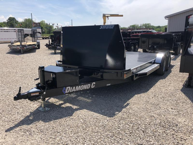 "2018 20'x83"" 10k Diamond C Car / Racing Trailer. 99335"