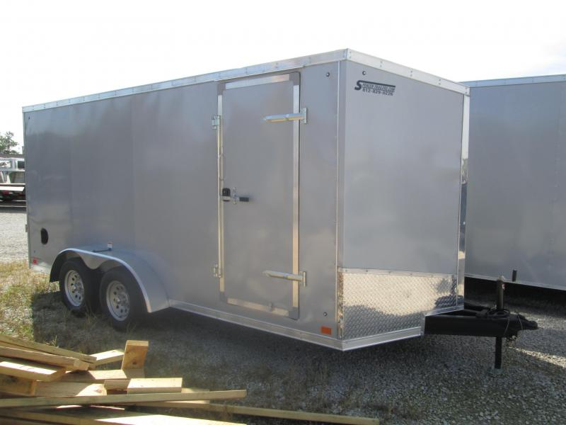2019 7x16 7K Discovery Enclosed Trailer. 2789