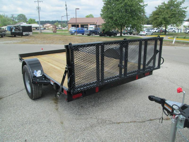 "2017 77""x10' Diamond C Utility Trailer. 91244"