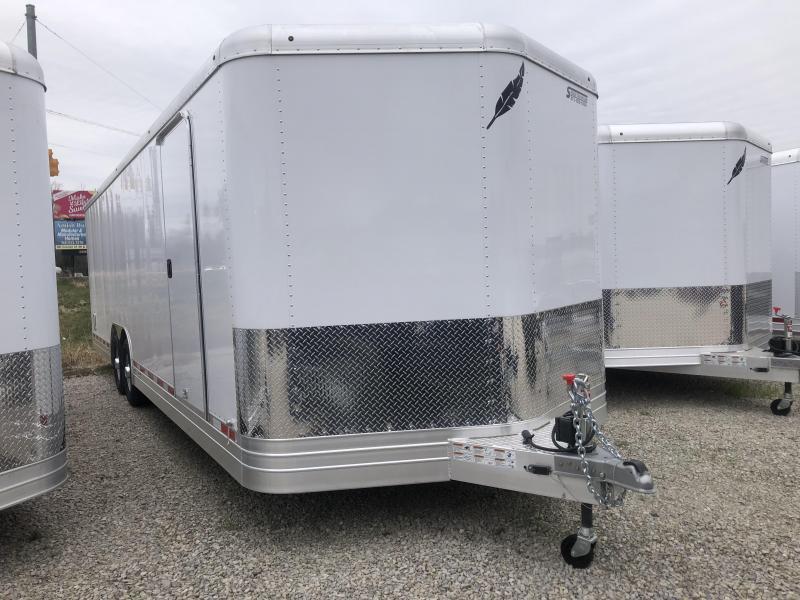 2018 28'x8.5' Featherlite Car / Racing Trailer. 148859