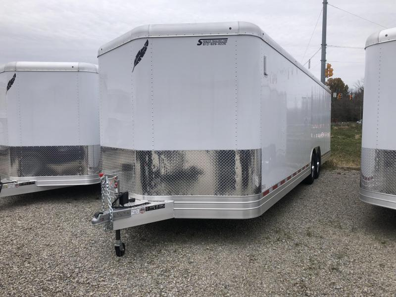2018 28'x8.5' Featherlite Car / Racing Trailer. 148859