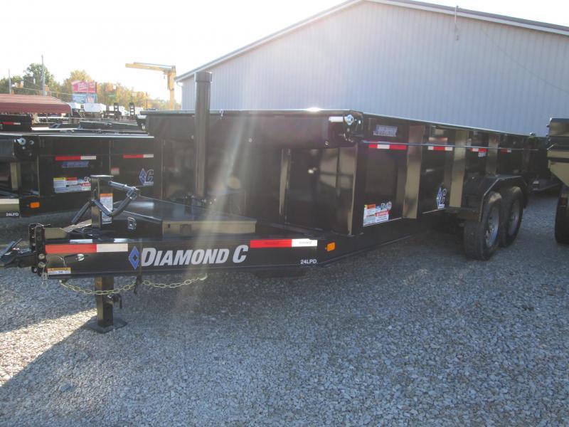 2019 16x82 14K Diamond C Dump Trailer. 6567