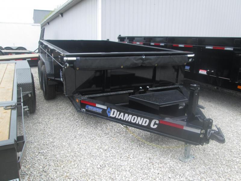 2019 82x12 Diamond C Trailers LPD207 Dump Trailer