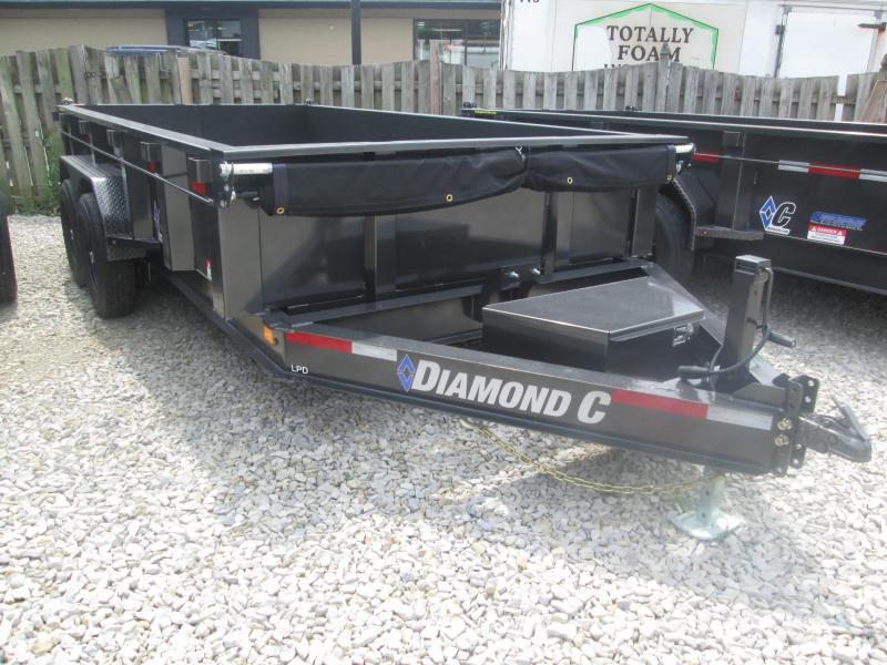 2019 82x14 Diamond C Trailers LPD207 Dump Trailer