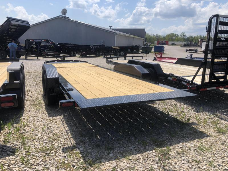 2019 16+6 Diamond C Trailers HDT207 Equipment Trailer
