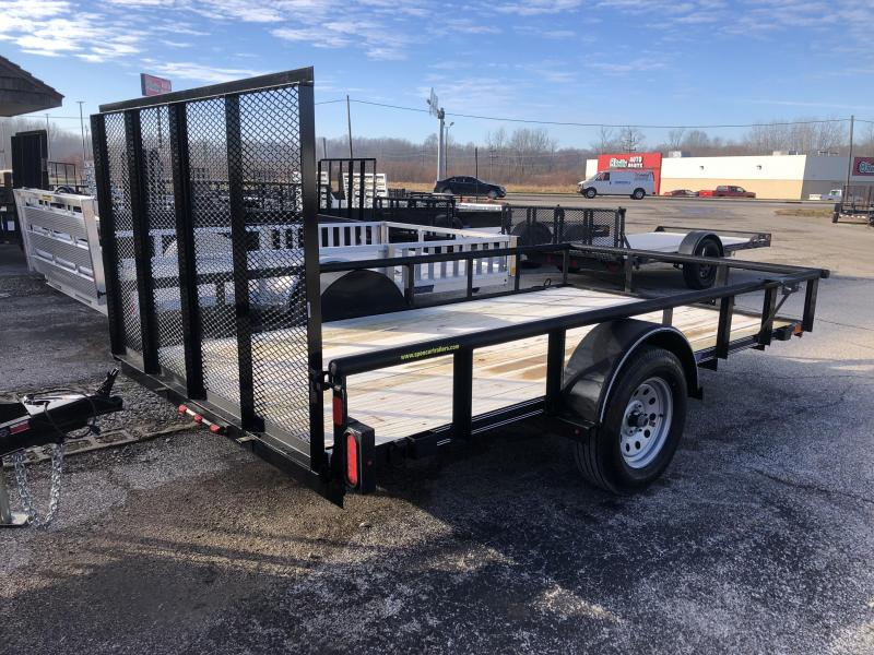 2019 12x77 Diamond C Utility Trailer. 9047