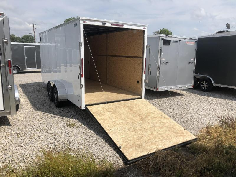 2020 7x20 Legend Manufacturing Cyclone Enclosed Cargo Trailer. 17494