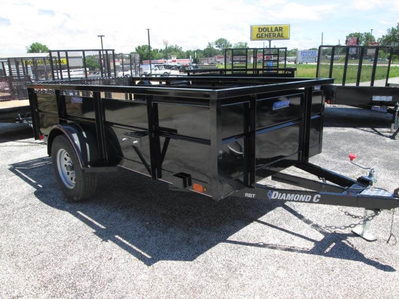 2019 5X10 Diamond C Utility Trailer. 15101