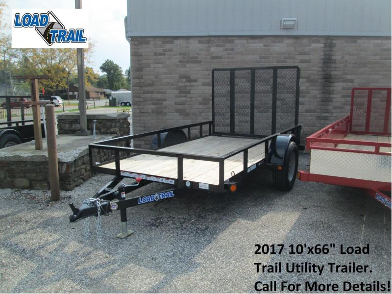 "2017 10'x66"" Load Trail Utility Trailer. 42569"