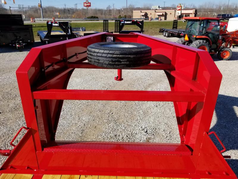2018 20+5 15.5k GVWR Diamond C Equipment Trailer. 97214