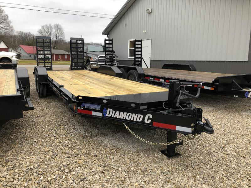 2019 20+2x82 14.9K Diamond C Equipment Trailer. 7541