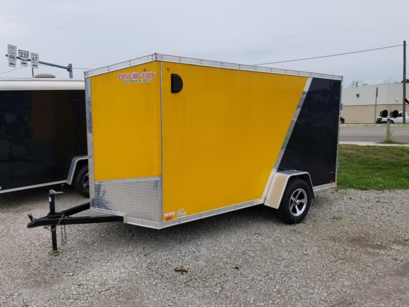 2017 6x12 Discovery Trailers Rover SE  Enclosed Cargo Enclosed Cargo Trailer