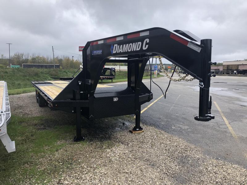 """2019 102""""x30' 25k Diamond C Gooseneck Equipment. 06387"""